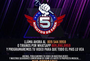 LATIN MUSIC TV TE DA LA OPORTUNIDAD DE TUS 5 MINUTOS DE FAMA