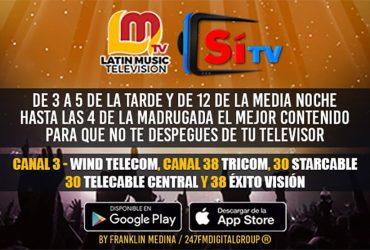 SI TV Y LATIN MUSIC TV LA GRAN ALIANZA DEL ENTRETENIMIENTO