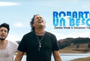Carlos Vives ft Sebastian Yatra  Robarte un Beso